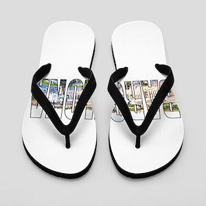 Barcelona Flip Flops