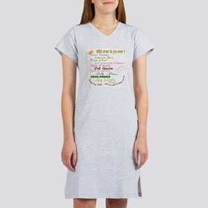 Which crown is yours Women's Nightshirt