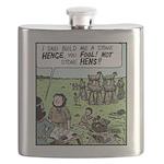 Stone Hens Flask