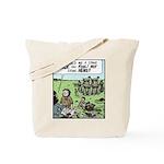 Stone Hens Tote Bag