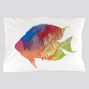 Discus (Symphysodon) Pillow Case