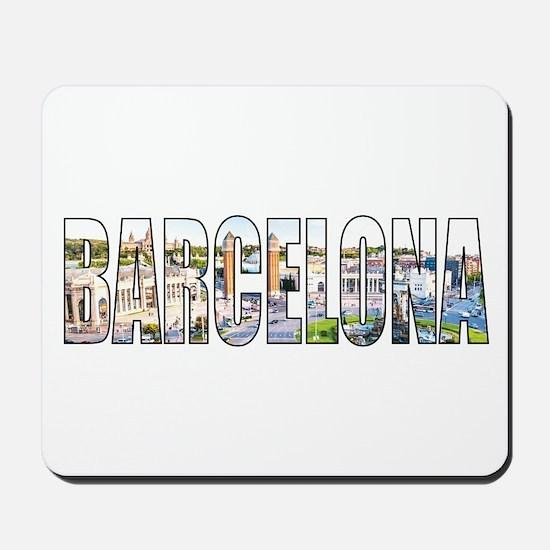 Barcelona Mousepad
