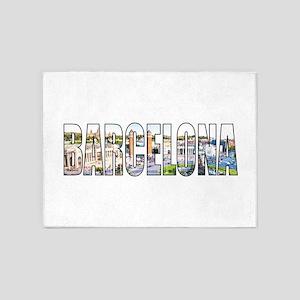 Barcelona 5'x7'Area Rug