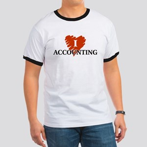 I Love Accounting Ringer T