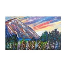 Mountain Lupins - By Helen Blair Wall Decal