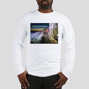 Atlantic City Boardwalk Long Sleeve T-Shirt