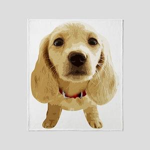 DAchshund004 Throw Blanket