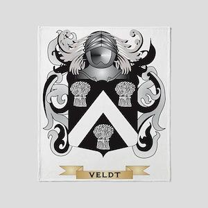 Veldt Family Crest (Coat of Arms) Throw Blanket