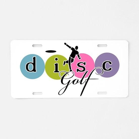 Disc Golf Classic Launch Aluminum License Plate