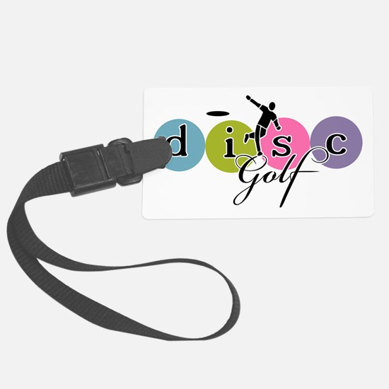 Disc Golf Classic Launch Luggage Tag