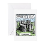 Stonedhenge Greeting Cards