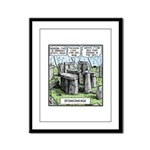 Stonedhenge Framed Panel Print