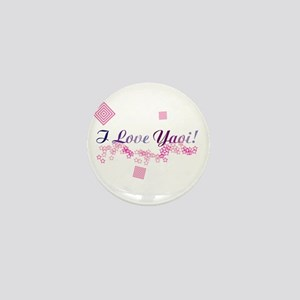 I Love Yaoi! Mini Button