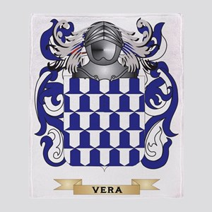 Vera Family Crest (Coat of Arms) Throw Blanket