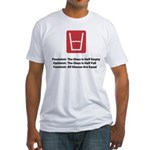 Feminist Glass Fitted T-Shirt