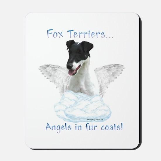 Fox Terrier Angel Mousepad
