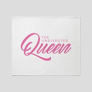 Queen - Pink Throw Blanket