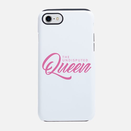 Queen - Pink iPhone 7 Tough Case