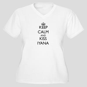 Keep Calm and kiss Iyana Plus Size T-Shirt