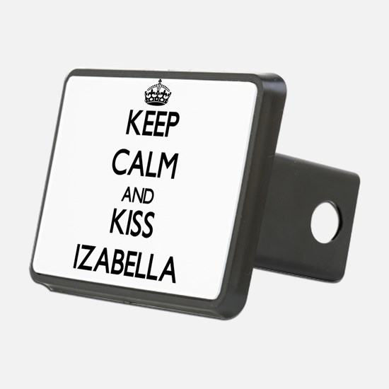 Keep Calm and kiss Izabella Hitch Cover