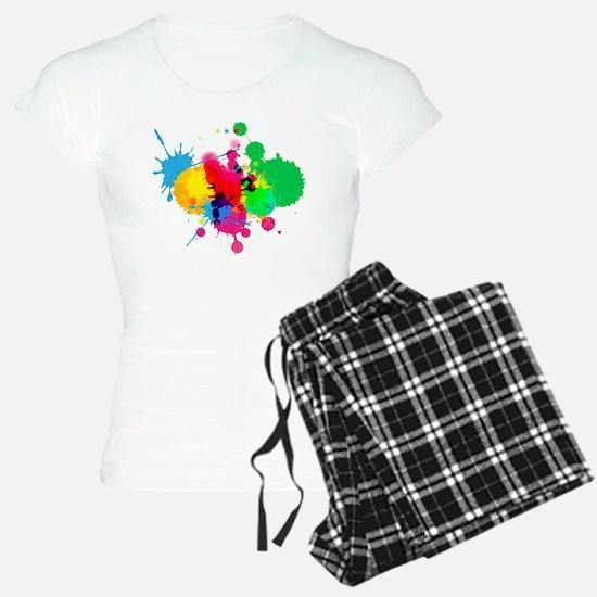Paint Fight Pajamas