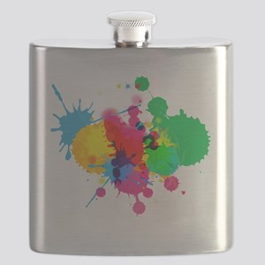 Paint Fight Flask