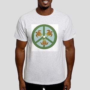 SEA TURTLE PEACE LOGO Light T-Shirt