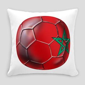 Moroccan Soccer Ball Everyday Pillow