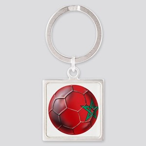Moroccan Soccer Ball Keychains