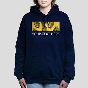 Alpha Omicron Pi Pineapp Women's Hooded Sweatshirt