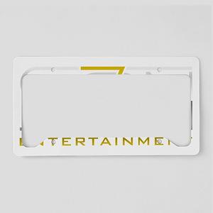 Se7en Entertainment License Plate Holder