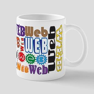 Web 11 Oz Ceramic Mug Mugs