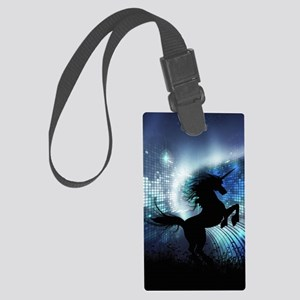 Unicorn Silhouette Large Luggage Tag