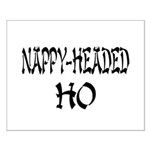 Nappy Headed Ho Oriental Design Small Poster