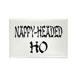 Nappy Headed Ho Oriental Design Rectangle Magnet (
