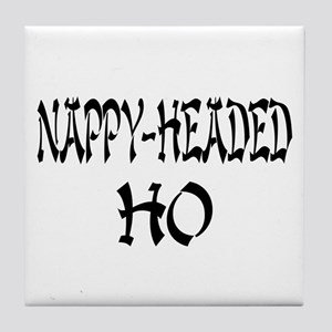 Nappy Headed Ho Oriental Design Tile Coaster