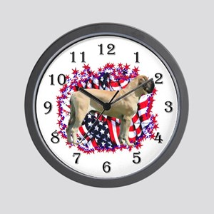Mastiff Patriot 16 Wall Clock