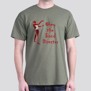 Obey the Band Director Dark T-Shirt