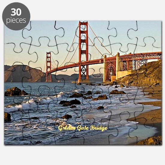Golden Gate Bridge (labeled) Puzzle