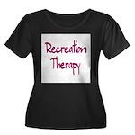 Recreation Therapy Women's Plus Size Scoop Neck Da