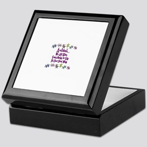 Autism .. we all have.. Keepsake Box