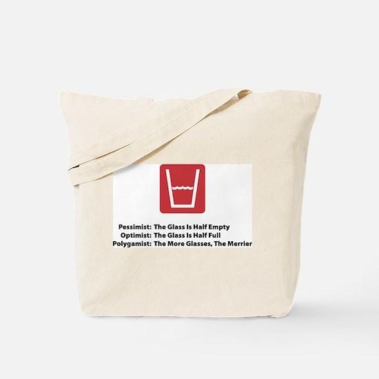 Polygamist Glass Tote Bag