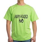 Nappy Headed Ho French Design Green T-Shirt
