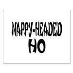 Nappy Headed Ho French Design Small Poster