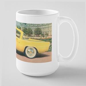 Yellow Studebaker on Large Mug