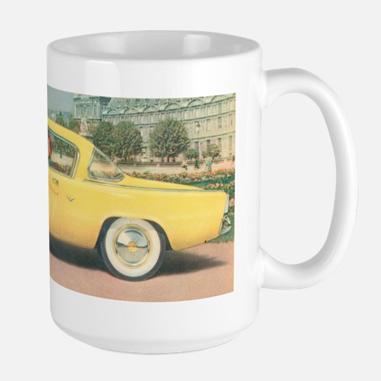 Yellow Studebaker on Large Mug