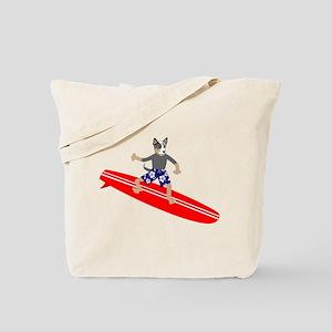 Australian Cattle Dog Longboard Surfer Tote Bag