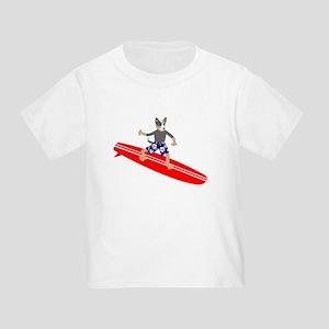Australian Cattle Dog Surfer Toddler T-Shirt