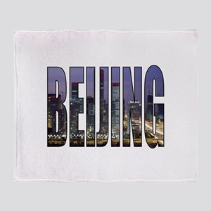 Beijing Throw Blanket