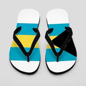 bahamas-flag Flip Flops